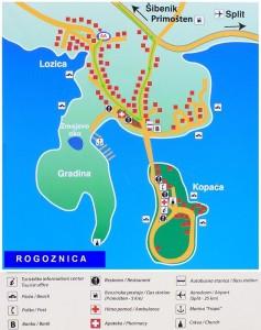 mapa Rogoznicy