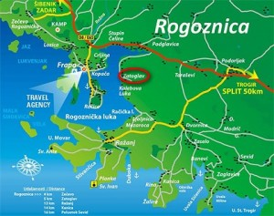 Zatoglav Mapa