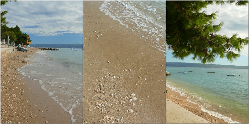 Piaszczyste plaże w Chorwacji